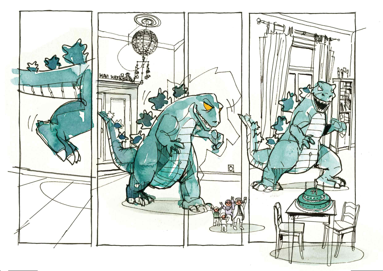 Tim Möller-Kaya | Godzilla